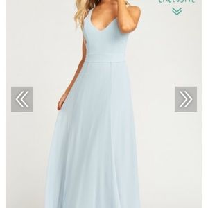 Jenn Maxi Dress - Steel Blue— Never Worn!